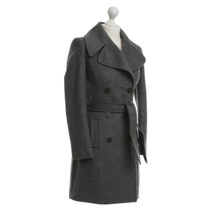 Stefanel Coat in Heather grey