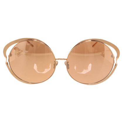 Linda Farrow Mirrored sunglasses
