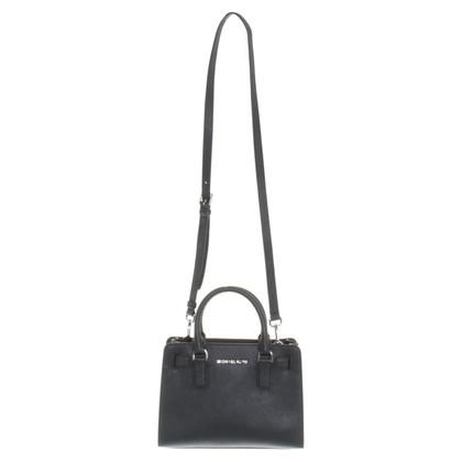 Michael Kors Leder-Handtasche in Schwarz