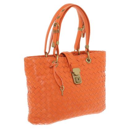 Bottega Veneta Handtas in Orange
