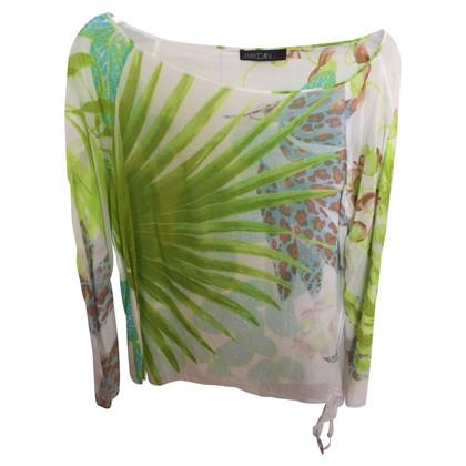 Marc Cain Blusen-Shirt mit floralem Muster