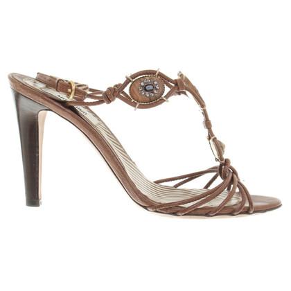 Moschino Sandaletten in Braun