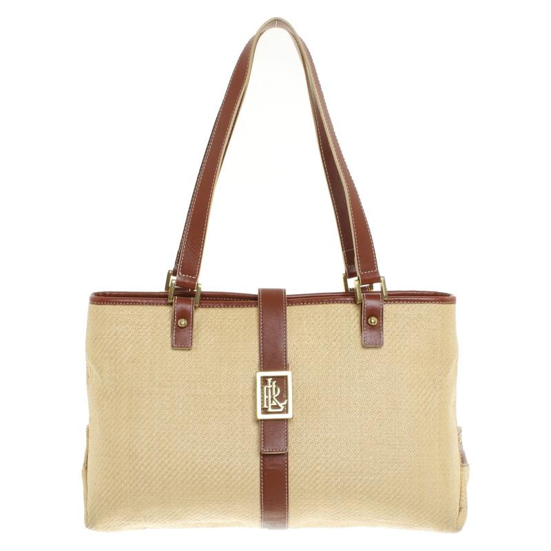 Ralph Lauren Handbag made of braid