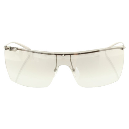 Gucci Monoshade glasses with logo
