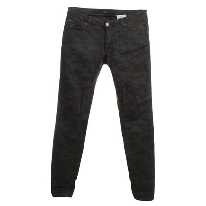 Maje Jeans mit Muster