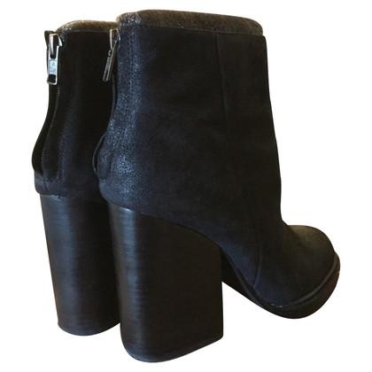 Ash stivali di camoscio
