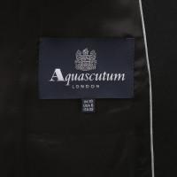 Aquascutum Zwarte wollen jas