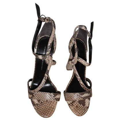 Ermanno Scervino Sandals Python Leather