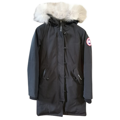huge selection of cf6c8 06a99 Canada Goose Giacca/Cappotto in Nero - Second hand Canada ...