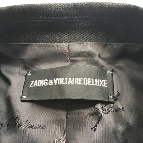 amp; Grau amp; Jacke Zadig Voltaire Jacke Grau Zadig amp; Voltaire Zadig Voltaire xAPxOwaY
