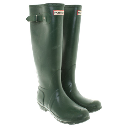 Hunter Wellies in green