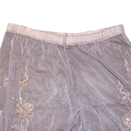 MCM Pantaloni harem di paillettes