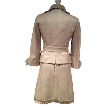Louis Vuitton Kleid mit Jacke