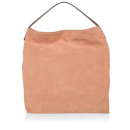 Coccinelle Suede handbag in sepia