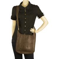 """Hermès """"Evelyne III"""" in dark brown"""