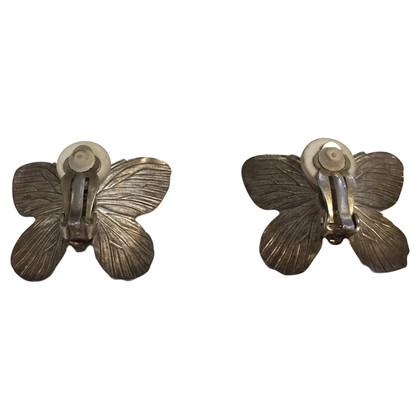 Jean Paul Gaultier Butterfly ear clips