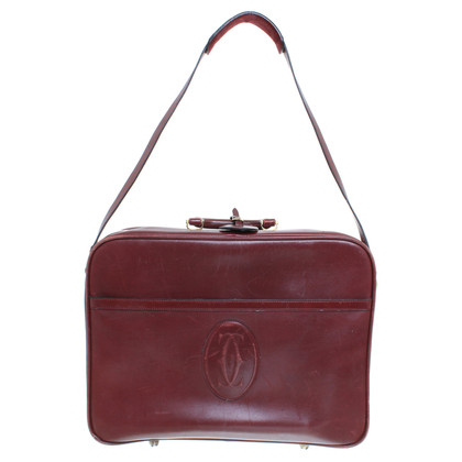 Cartier Travel bag in Bordeaux