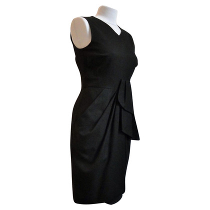 Céline Black woolen dress