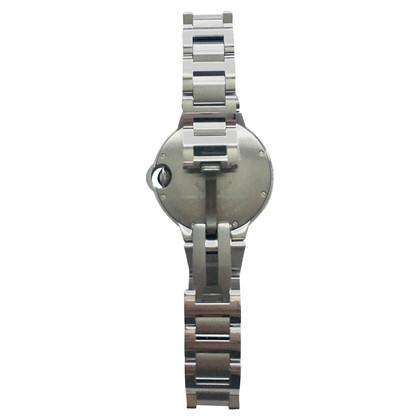 Cartier in acciaio orologio 33m Ballon Bleu