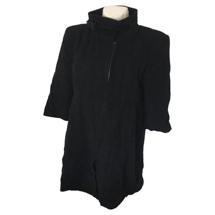 Marc Cain cappotto di lana nero