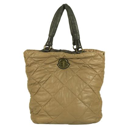 Moncler Beige quilted bag