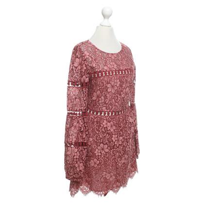 For Love & Lemons Kanten jurk