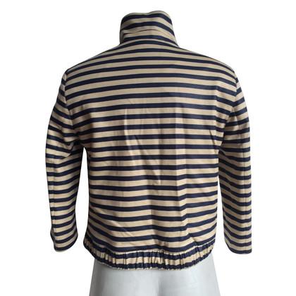 René Lezard Blazer with stripe pattern