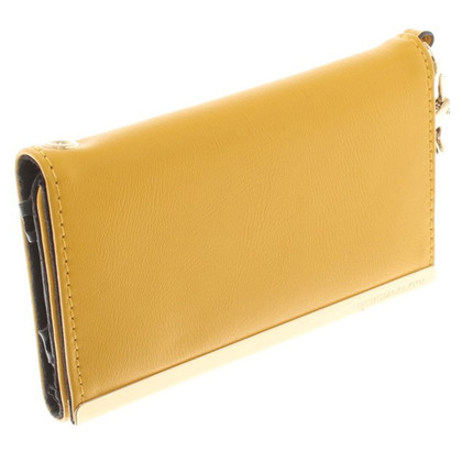 BCBG Max Azria Wallet in yellow