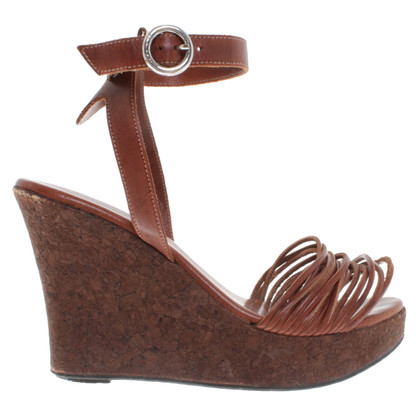 Strenesse Blue Sandals with wedge heel