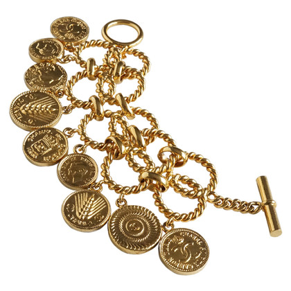 Chanel Charm bracelet with coin pendants