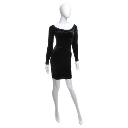 Alaïa Velvet dress in black