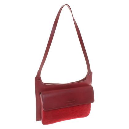 Les Copains Shoulder bag in red