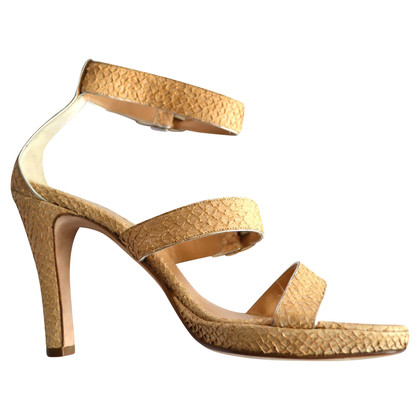 Unützer Sandals in snakeskin look