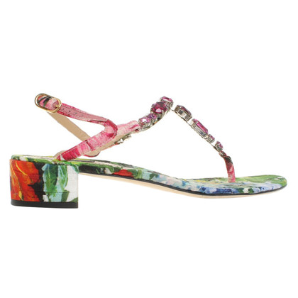 Dolce & Gabbana Sandals with a floral print