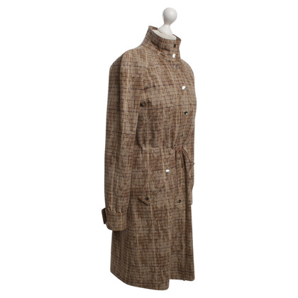 Hugo Boss Coat met plaid patroon