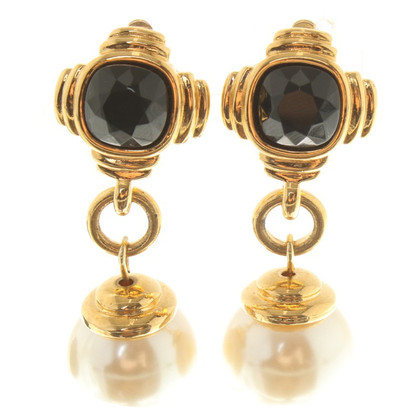 Givenchy Clip earrings with pearls