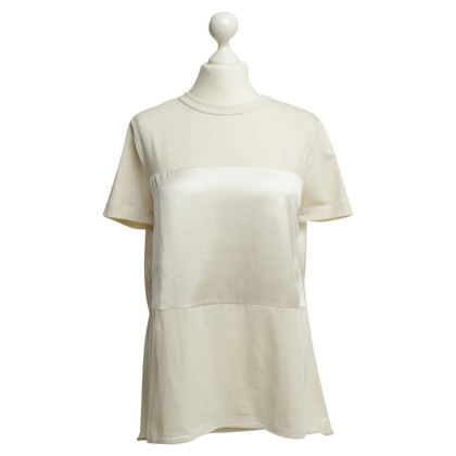 Brunello Cucinelli T-Shirt in crème