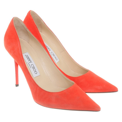 Jimmy Choo pumps in rosso