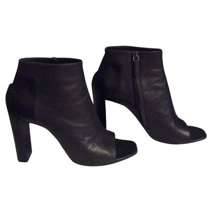 Jil Sander Peep Toe Boots