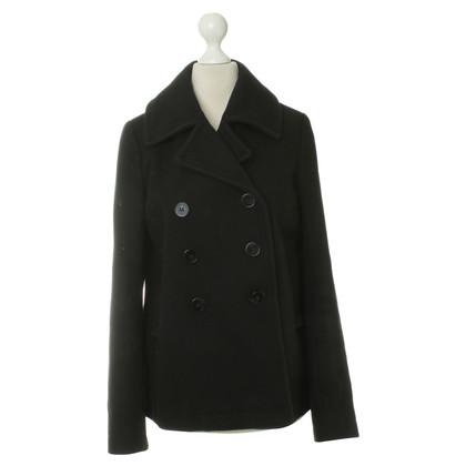 Cos Caban jas in zwart