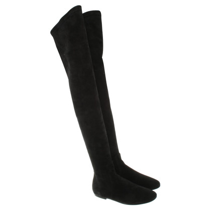 Isabel Marant Etoile Overknee boots in black