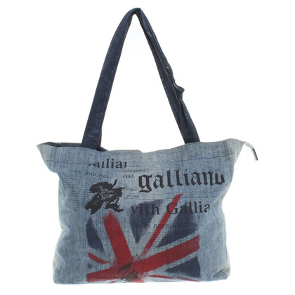 John Galliano Shoppers van denim