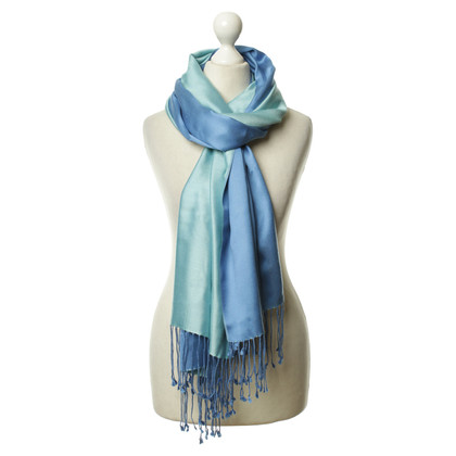 Ralph Lauren Silk scarf in blue/turquoise