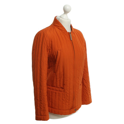 Max Mara Steppjacke in Orange