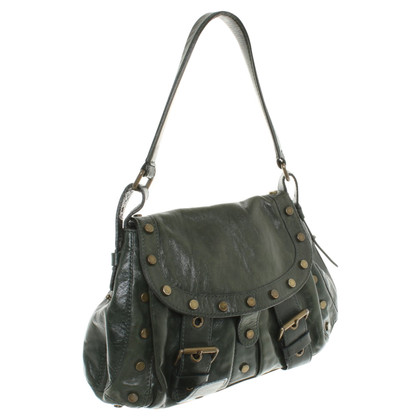 Coccinelle Handbag in olive green