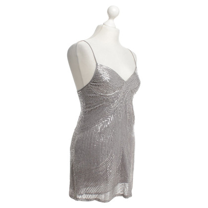 Patrizia Pepe Sequin Top in Grey