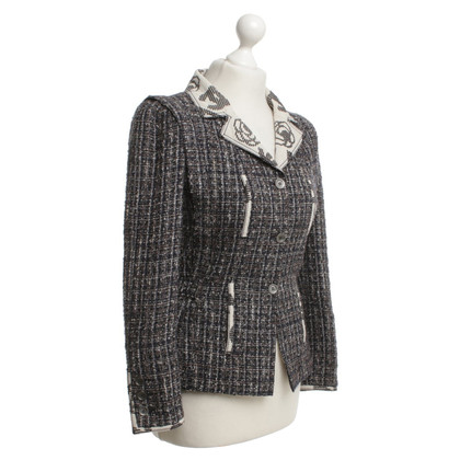 Chanel Bouclé Blazer in Tricolor