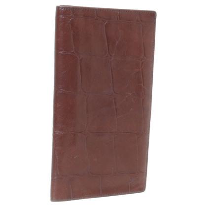 Mulberry Titolare della carta marrone