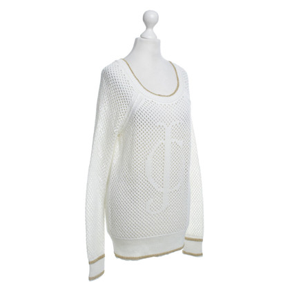Juicy Couture Knitted sweater in cream