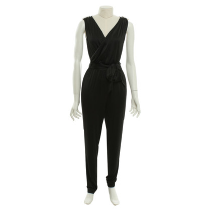 Halston Heritage Jumpsuit in black